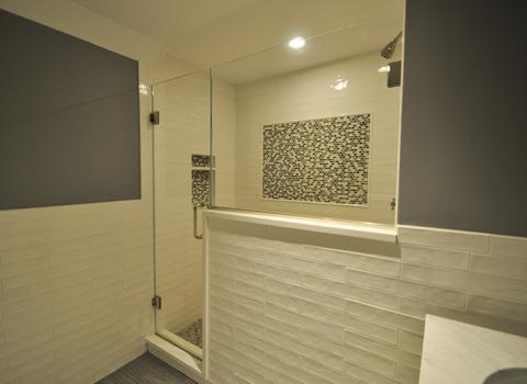 Basement Bathroom - Oyster Bay