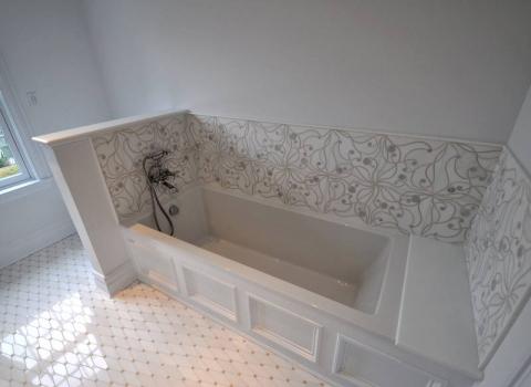 """Hers"" On suite Master Bath - Lattingtown"