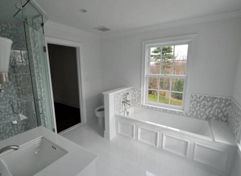 """His"" On Suite Master Bath - Lattingtown"