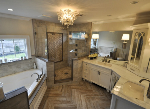 Master Bathroom - Dix Hills