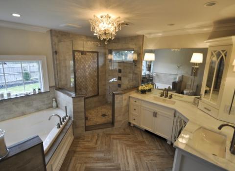 Master Bathroom - Dix Hills