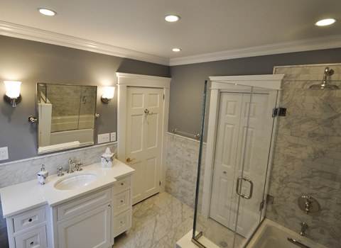 Master Bathroom - Oyster Bay