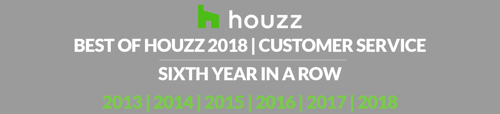 houzz best of 2018 customer service